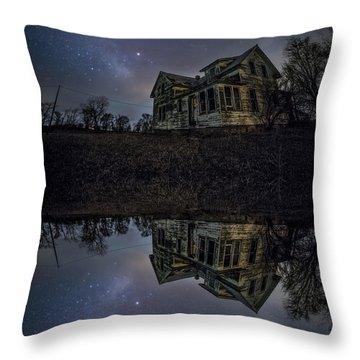 Dark Mirror Throw Pillow