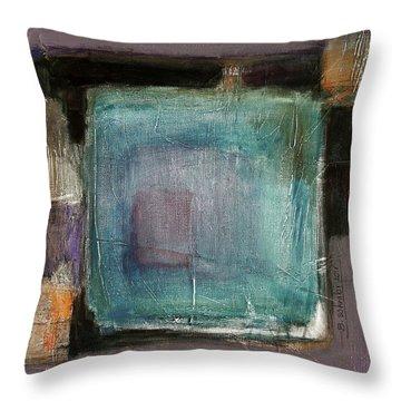 Pink Throw Pillow by Behzad Sohrabi