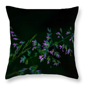 Throw Pillow featuring the photograph Dark Pink by Michaela Preston
