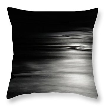 Dark River Throw Pillow