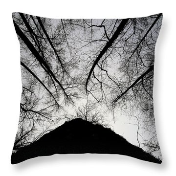 Dark Shadows Throw Pillow