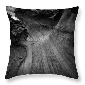 Dark Side Throw Pillow by Bjorn Burton