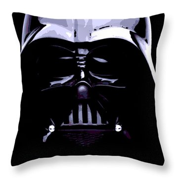 Dark Side Throw Pillow by George Pedro