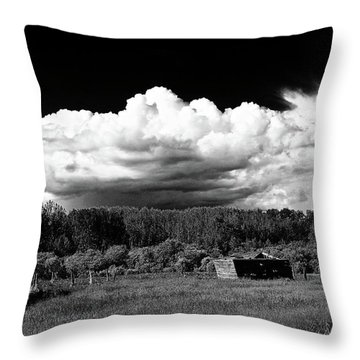 Dark Sky Storm Throw Pillow