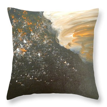 Dark Storm Throw Pillow