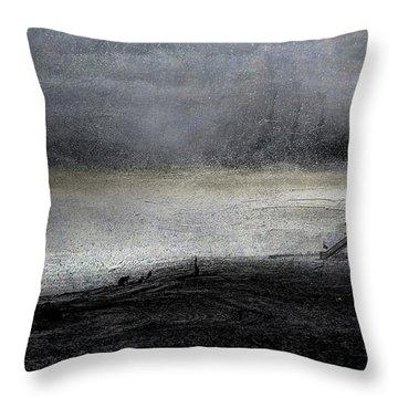 Dark Sunrise Throw Pillow