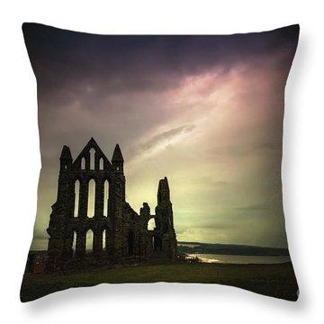 Dark Thy Kingdom Throw Pillow