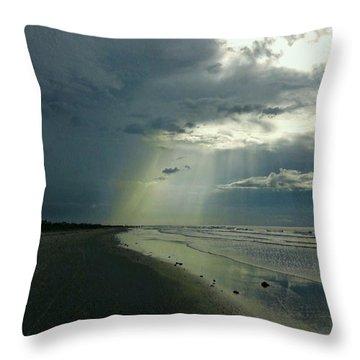 Dark To Enlightened Throw Pillow
