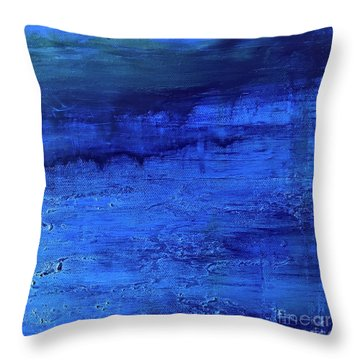 Darkness Descending Throw Pillow