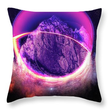 Darkside Of The Moon Throw Pillow