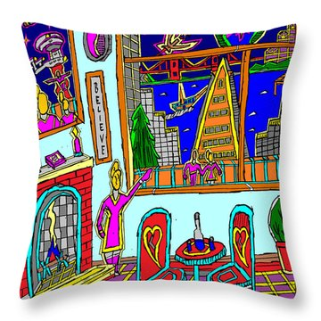 Darky Hopeless Search For Mercy #2 Throw Pillow