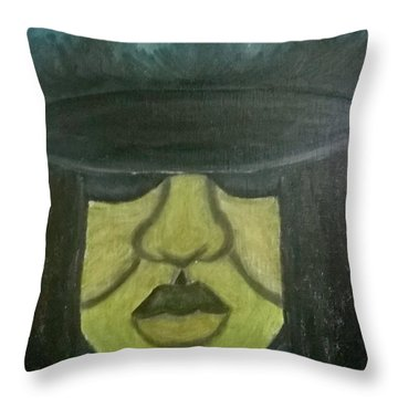 Darla's Day Out Throw Pillow