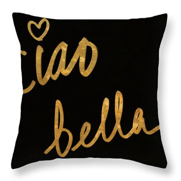 Darling Bella II Throw Pillow
