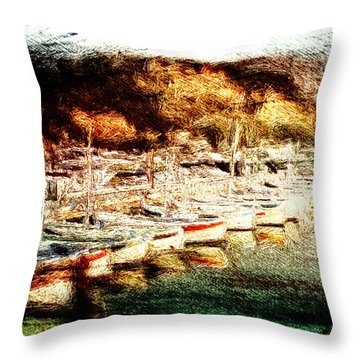 Darsena Throw Pillow