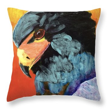 Darth Vader Hawk Throw Pillow