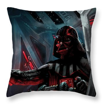 Darth Vader, Imperial Ace Throw Pillow