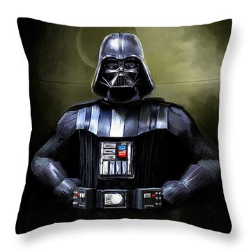 Darth Vader Star Wars  Throw Pillow