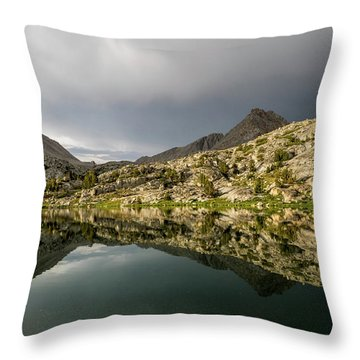 Darwin Lake Throw Pillow