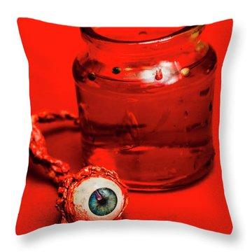 Darwin Leye Throw Pillow