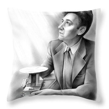 Daryl M. Chapin Throw Pillow