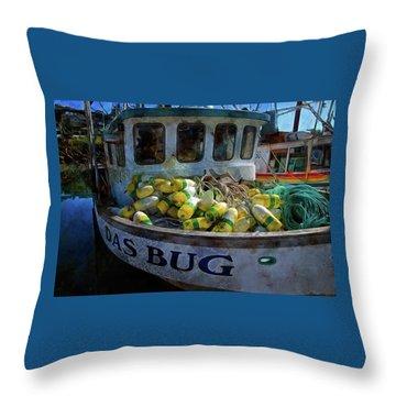 Das Bug Throw Pillow