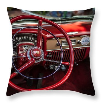 Dash Of Class Throw Pillow