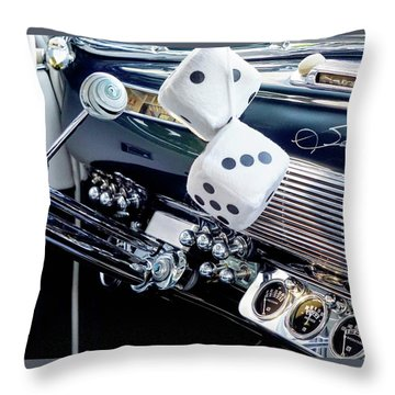 Dashboard Throw Pillow