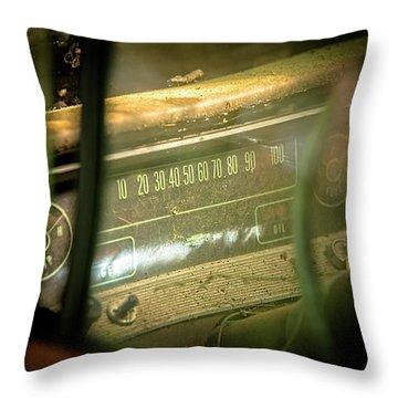 Dashboard Glow Throw Pillow