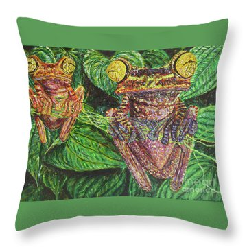 Date Night Throw Pillow by David Joyner