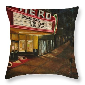 Date Night Throw Pillow by Lindsay Frost