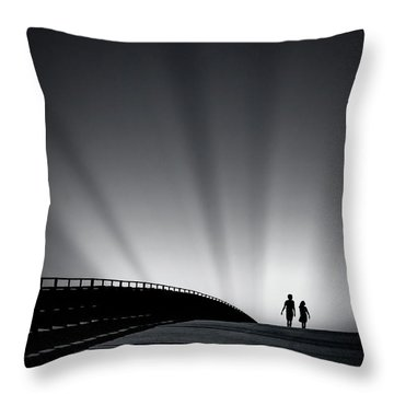 Date With Destiny Throw Pillow
