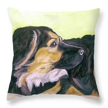 Date With Paint Sept 18 1 Throw Pillow