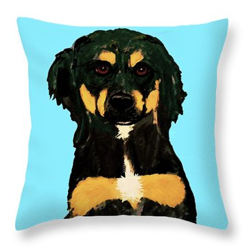 Date With Paint Sept 18 9 Throw Pillow