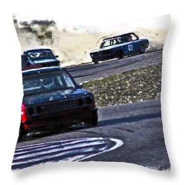 Datsun 510 Throw Pillow
