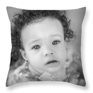 Daughter Throw Pillow