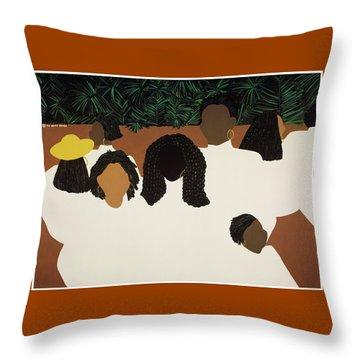 Daughters Throw Pillow
