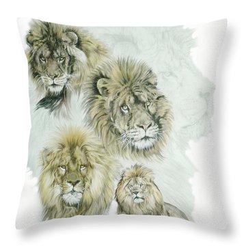 Dauntless Throw Pillow