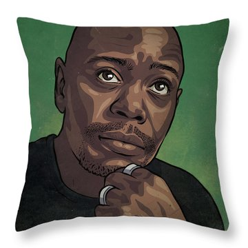 Dave Chappelle Throw Pillow