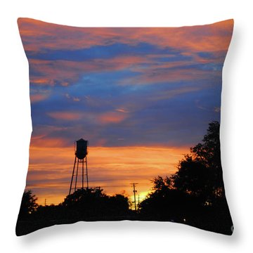 Davenport Tower Throw Pillow