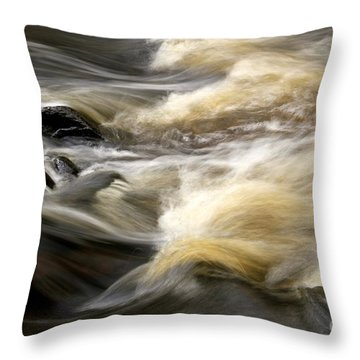 Throw Pillow featuring the photograph Dave's Falls #7431 by Mark J Seefeldt
