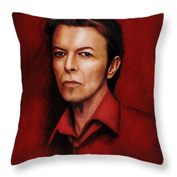 David 6 Throw Pillow