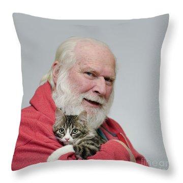 David And Ms Alexia  Square Throw Pillow