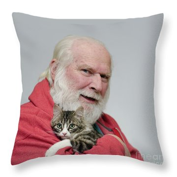 David And Ms Alexia  Square Throw Pillow