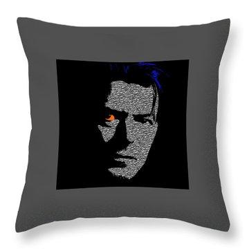 David Bowie 1 Throw Pillow