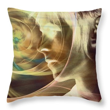 David Bowie / Transcendent Throw Pillow