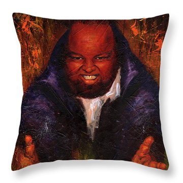 David C. Hayes Throw Pillow by Sean Seal