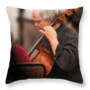 David Darling - Throw Pillow