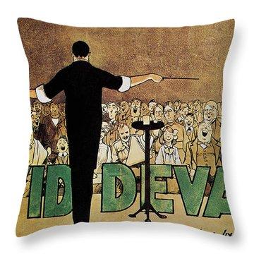 David Devant Poster C1910 Throw Pillow by Granger