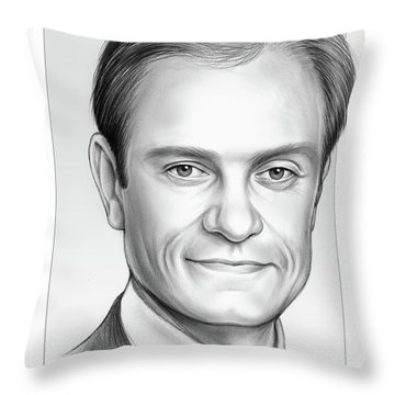 David Hyde Pierce Throw Pillow