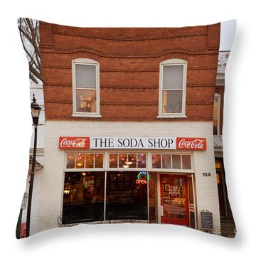 Davidson North Carolina Throw Pillow